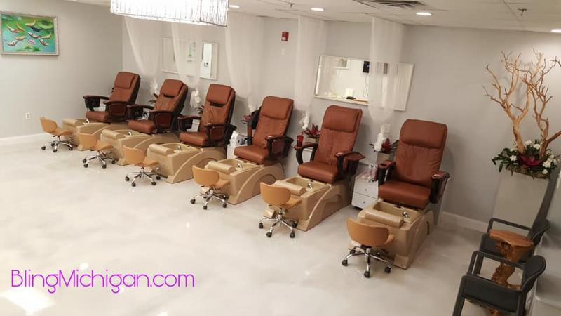 Bling Nail Salon Milford Michigan